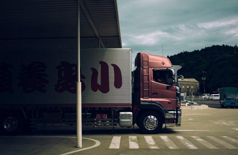 Transport towarów - kontener